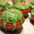 Cupcakes verts