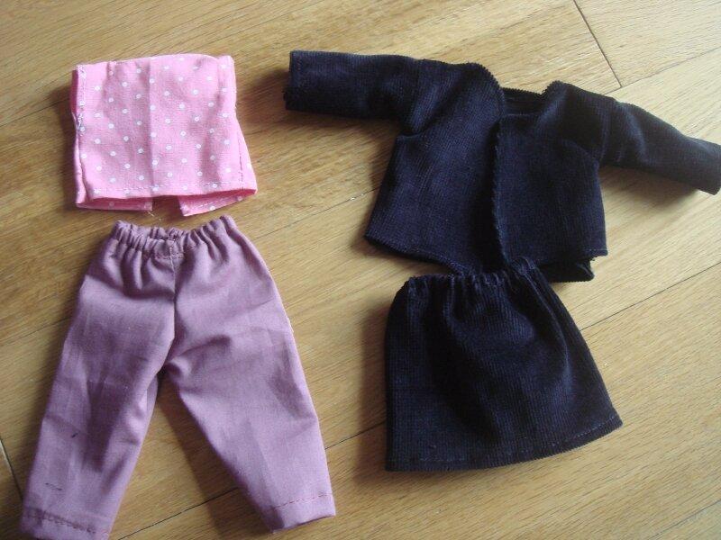Vêtements poupée MCI