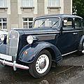 Opel super six 2,5 liter berline