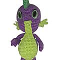 Amigurumi : spike, le petit dragon