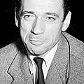 1960 - yves montand découvre hollywood et marilyn monroe