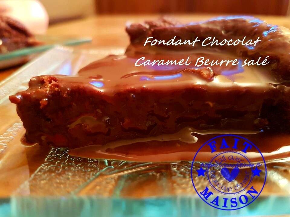 Fondant au chocolat caramel beurre sal thermomix - Fondant caramel beurre sale ...