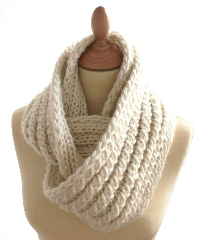 patron snood tricot