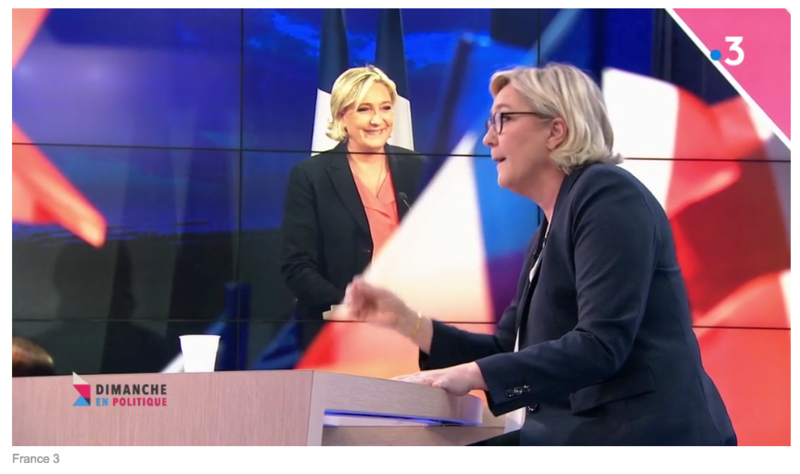 MARINE LE PEN LE RETOUR MEDIA DIXIT WORLD