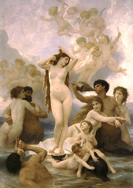 William_Adolphe_Bouguereau__1825_1905____The_Birth_of_Venus__1879_