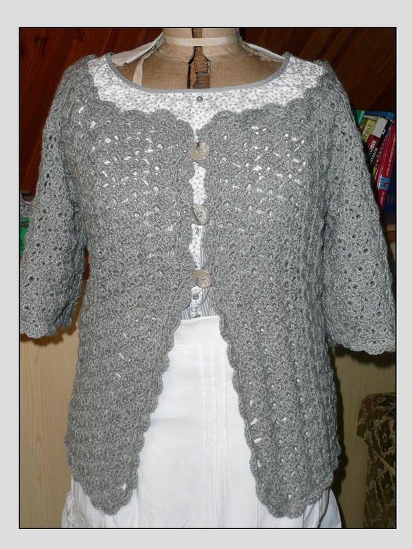Tuto Gilet gilet Femme 2 Crochet Au HbeYE9IWD2