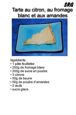 tarte au citron, au fromage