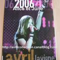 Calendrier non officiel 2006