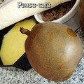 Roulés de poires aux pépites de chocolat en 2 actes, coco se rebiffe...