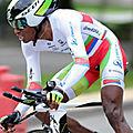 Daniel Teklehaimanot - Tour de France 2015