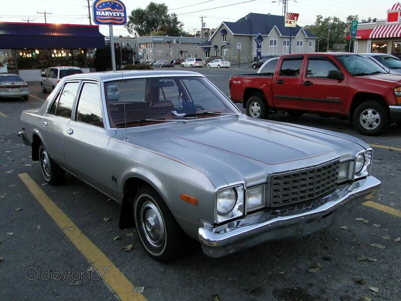 plymouth volare sedan 1978 1979 a