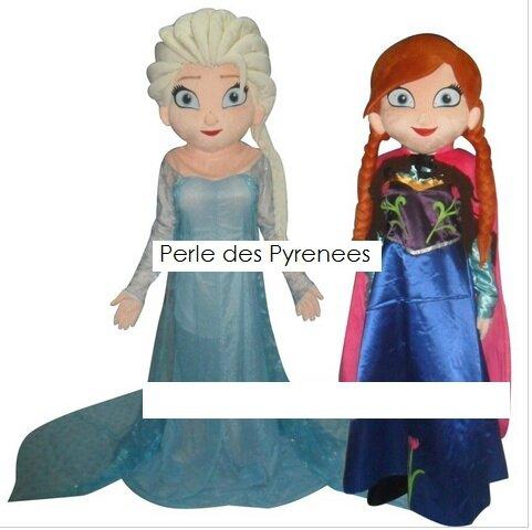 ELSA et ANNA, la reine des neiges
