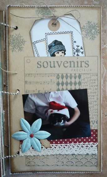 Mini album Scrapbox dcembre 21