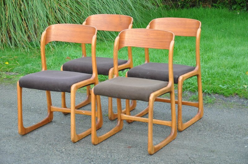 Chaises ann es 50 articles vendus antiquit s du for Chaise annee 80
