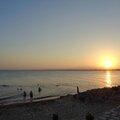 Le coucher de soleil du dimanche 13 juillet 2014