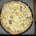 quiche aux poireaux et ricotta