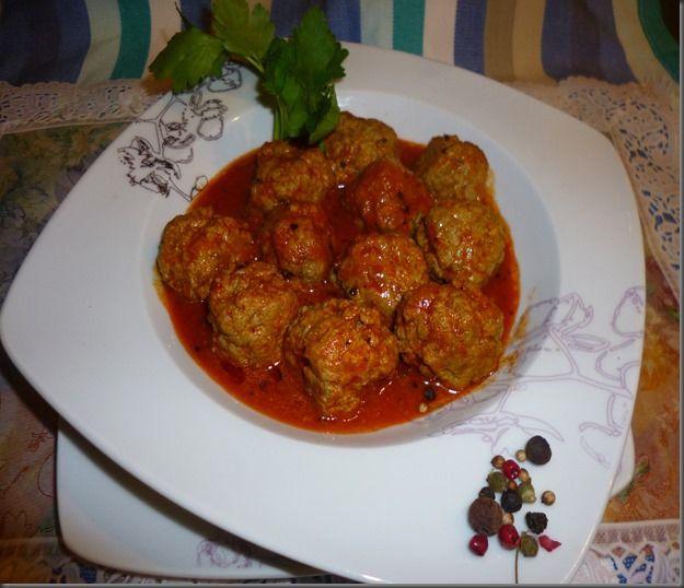 Boulette de viande Hachée en sauce Tomate (Recette remontée)