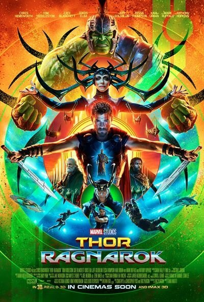 thor 3 poster sdcc2017