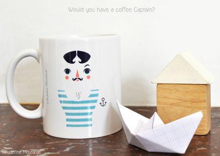 Mug coffecaptain