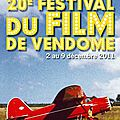 20me Festival du Film de Vendme (du 2 au 9 dcembre 2011)