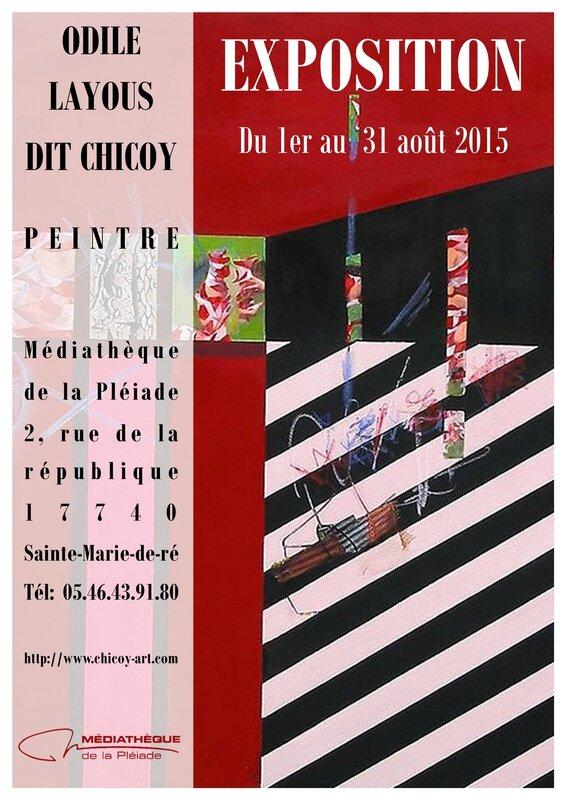 Affiche Peinture Aout 2015