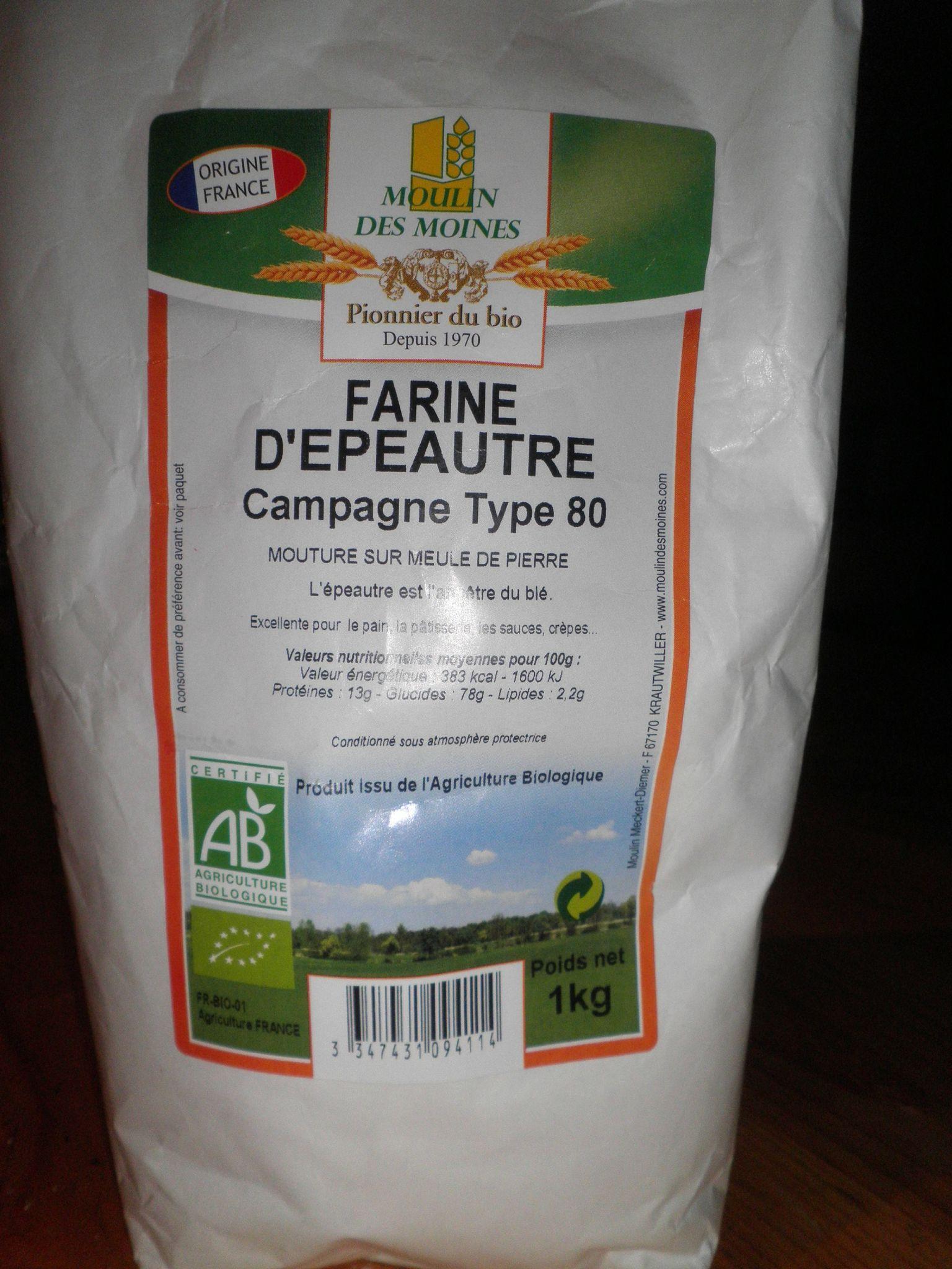 farine epeautre
