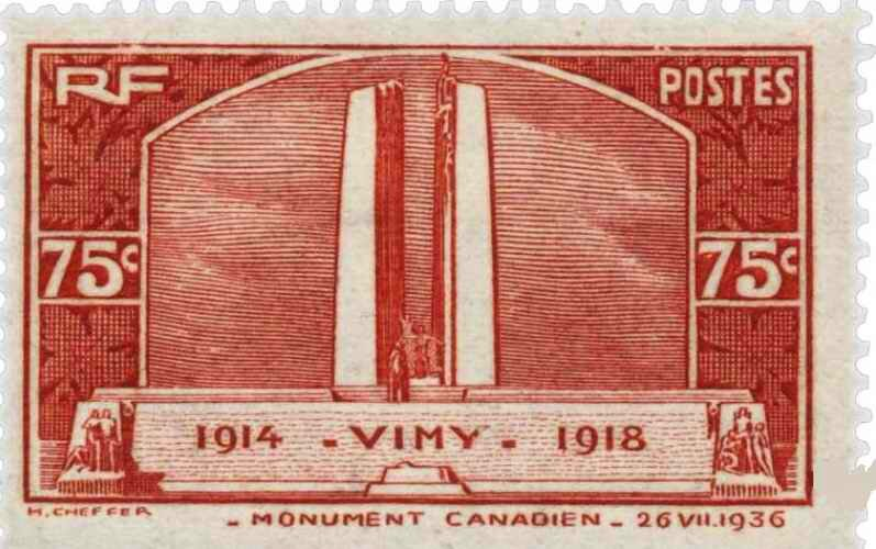 timbre vimy