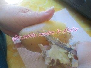 Poelée de pomme de terre, lardons et gruyère04