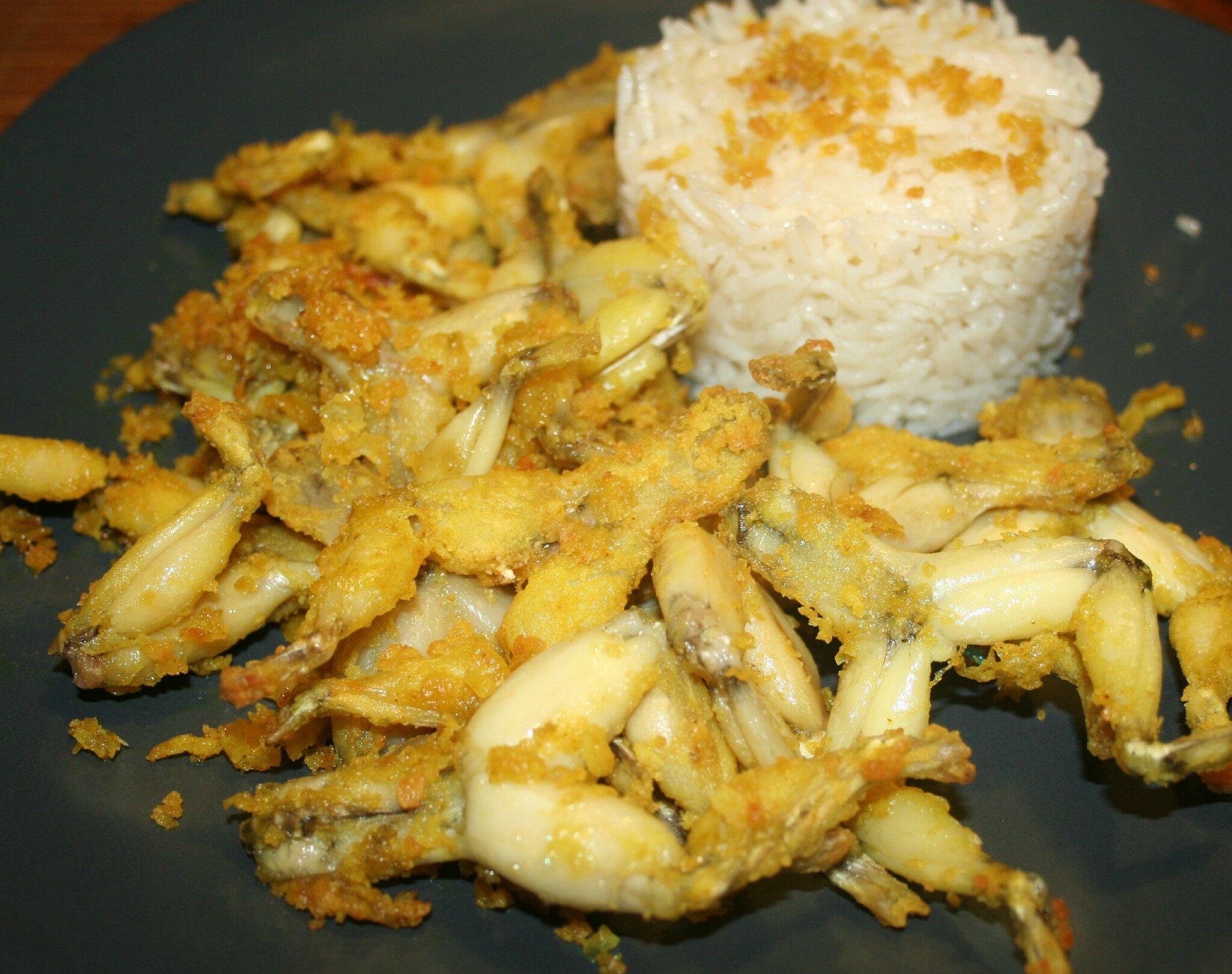 Cuisses de grenouille au curry l 39 actifry amafacon - Cuisiner gambas surgelees ...