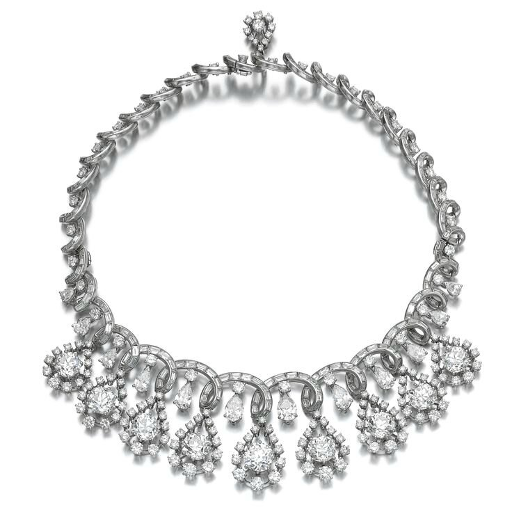 Diamond necklace, late 1960s