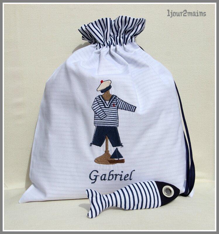 sac marin Gabriel