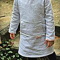 Robe en molleton