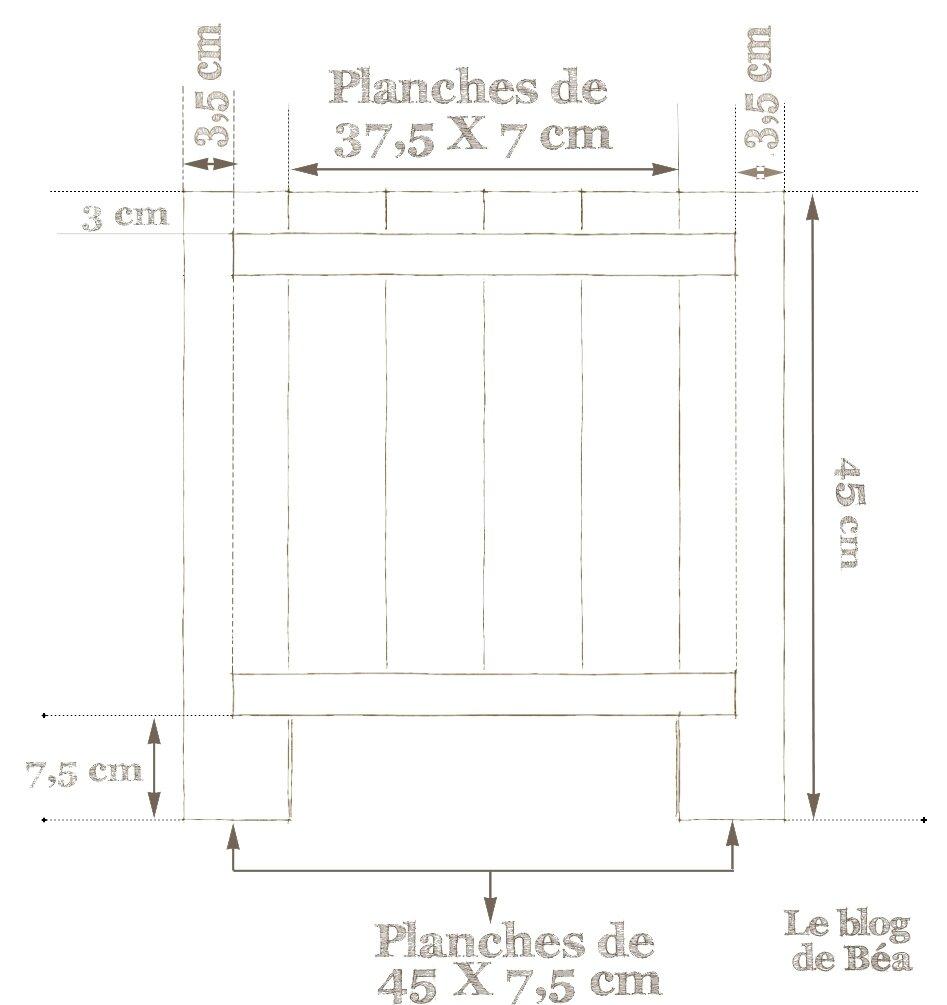 diy astucieux tabouret en bois de palette le blog de b a. Black Bedroom Furniture Sets. Home Design Ideas