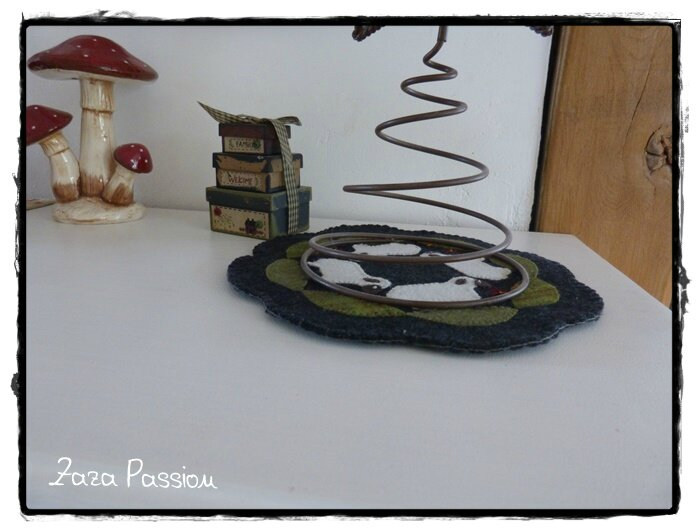 Candle Mat Sheep 03
