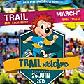 Un trail dans un parc d'attraction
