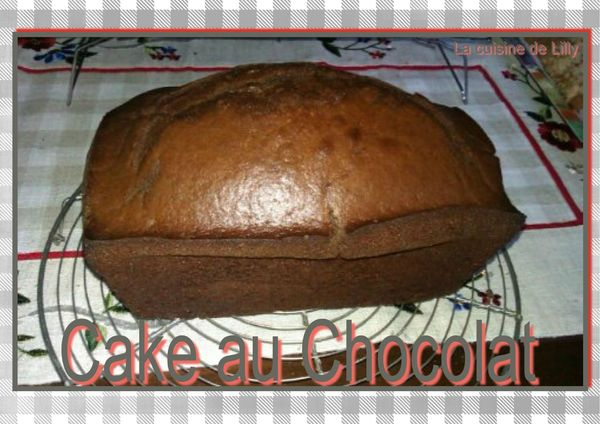 cake au chocolat