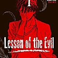 Lesson of the evil, tome 1 de eiji karasuyama & yûsuke kishi