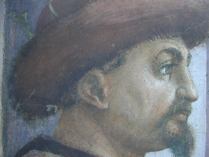 Théophile - personnage à gauche