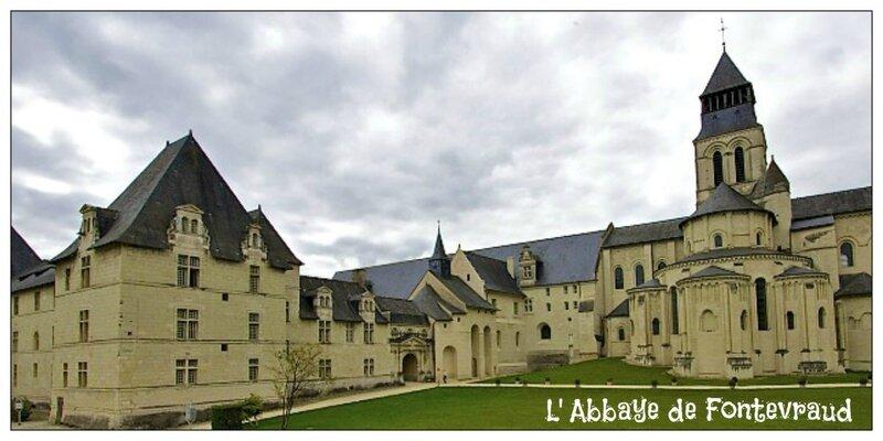 L' Abbaye de Fontevraud 2 Crédit photo internet