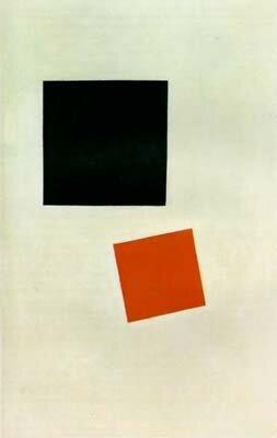 Kasimir Malevitch, Carré noir, carré rouge, 1915