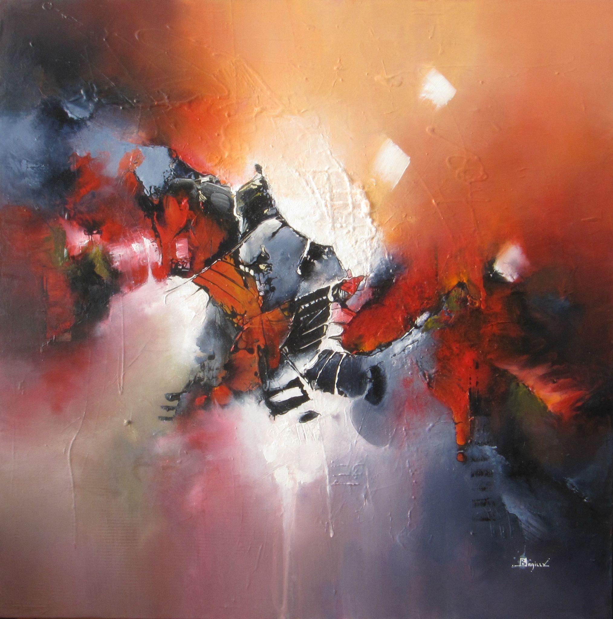 automne peinture abstraite