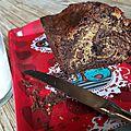 Cake marbré tout simple