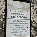 Bidron désiré (la chapelle orthemale) + 04/05/1915 bourges (18)