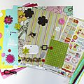 Kit Atelier Multi*Albums d'août, 2ème version