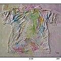 21-A corps et à plis ( Peinture )