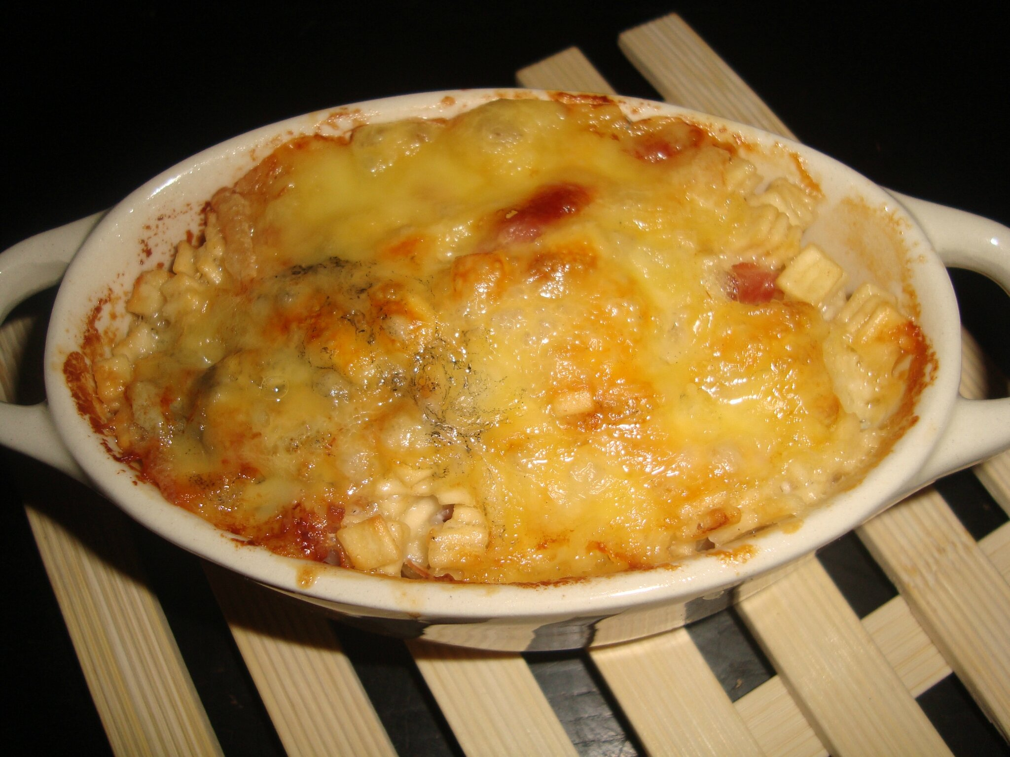 crozets carbonara gratin s au jambon cru et au beaufort blogs de cuisine. Black Bedroom Furniture Sets. Home Design Ideas
