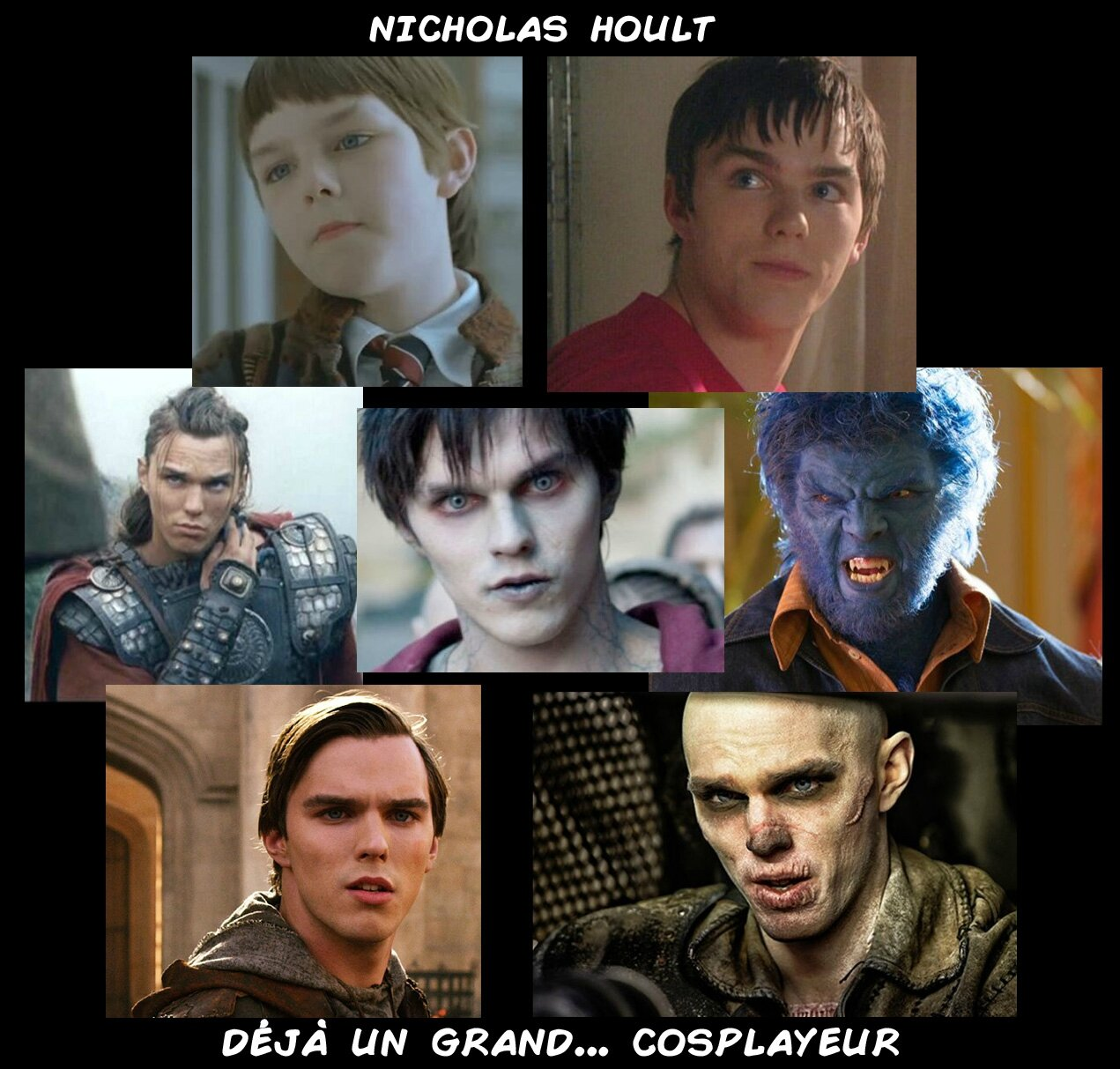 Nicholas Hoult Evolution