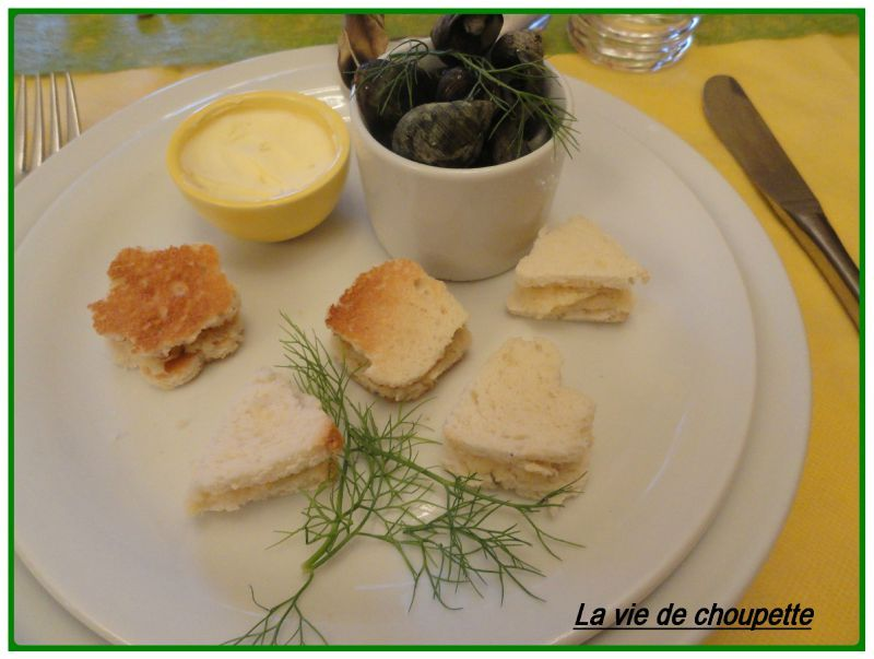 AMUSES-BOUCHE RILLETTES DE SAINT-JACQUES