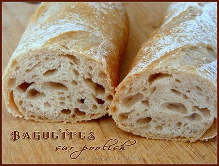 Baguettes sur poolish (1)