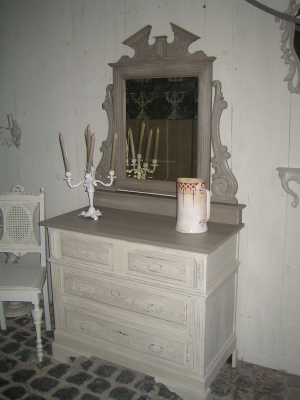 La boutique de l 39 air de rien brocante de charme for Meuble lavabo miroir